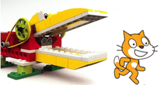 Creating a playful learning experience with LEGO WeDo and Scratch.